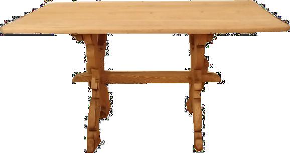 Tisch hell ohne Schublade