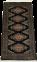 Pakistan (128 x 64 cm)